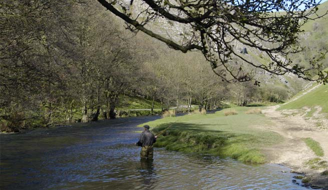 Fly Fishing at the Izaak Walton Hotel